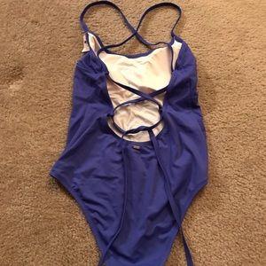 Victoria's Secret blue one piece suit